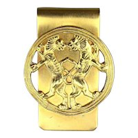 Vintage MMA Persian Empire Ornament Money Clip - Achaemenid Lions