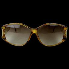 Vintage Christian Dior Eyeglasses Oversized Leopard Frame 2759