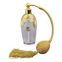 Art Deco French E. Coudray Perfume Bottle Atomizer