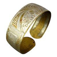 1933 Chicago World's Fair Souvenir Bracelet