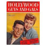 Vintage 1955 HOLLYWOOD GUYS - GALS Magazine Movie Stars Debbie Reynolds
