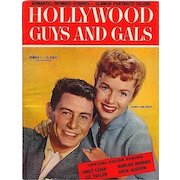 Vintage 1955 HOLLYWOOD GUYS - GALS Magazine Movie Stars Debbie Reynolds