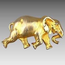 Great Big Doreen Ryan Elephant Belt Buckle - Figural Pachyderm