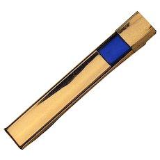 1940s Kreisler Craft Gold-Filled Tie Bar Money Clip