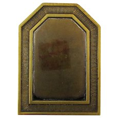 Old Victorian Bronze Bradley & Hubbard Strong Solid Desk Clip Paperweight
