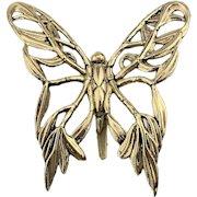 Vintage John Hardy Butterfly Hair Clip