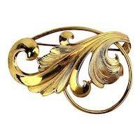 Vintage Forstner Sterling Silver Pin for Elegant Woman