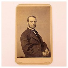 c1870 Mathew Brady CDV Photo John Shillito Dept. Store Owner Cincinnati