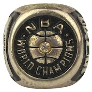 1979 Champion NBA Seattle Super Sonics Fan 25th Anniversary Ring