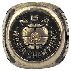1979 Champion NBA Seattle Super Sonics Fan 25th Anniversary Ring