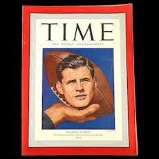 November 3, 1947 TIME Magazine - Michigan Football - News A to Z