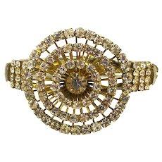 Vintage Rhinestone 3 Tier ~ Wedding Cake ~ Rings Bracelet