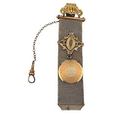 Fancy Old Victorian Watch Fob Pendant c1880s
