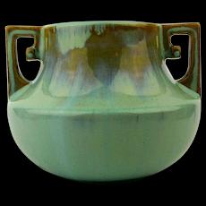 c1920s FULPER Arts & Crafts Art Pottery Vase Handled Jug