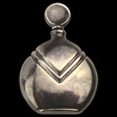 Italian Sterling Silver Pocket Purse Perfume Bottle