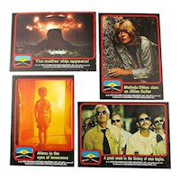 1978 Assorted Close Encounters of the Third Kind Trading Cards Lot of 64