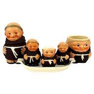 Lot Goebel Hummel Friar Tuck MONKS Germany Table Ware