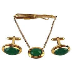 Vintage D&B Correct Gold-Filled Cufflink Set Cufflinks Tie Bar