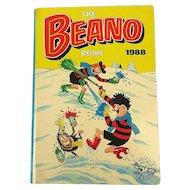 The BEANO Book 1988 - British Comic Hard Cover Annual