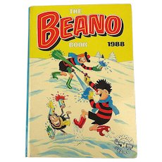 The BEANO Book 1988 - British Comic Hard Cover Annual