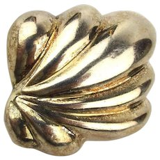 Mid-Century Tiffany & Co. Mexican 925 Sterling Pin Brooch