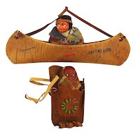 Two 1930s Native American Indian Souvenir Dolls