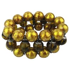 Joan Rivers Wide Bead Stretch Bracelet - Not The Usual