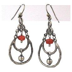 Vintage Sterling Silver Silpada Earrings Pierced Dangles
