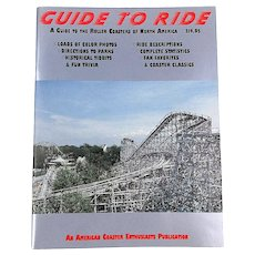1991 Guide to Ride - Roller Coasters of North America Magazine Color