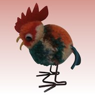 Steiff Woolen Rooster, 1959 to 1964, No Id's