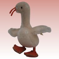 Sweet Steiff  Tulla Goose, 1967 to 1970, Steiff Button