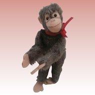 Steiff Miniature Jocko Monkey, Steiff Button, 1959 to 1964