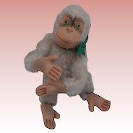 Steiff Monkey , 1950 to 1964, No Ids'