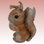 Steiff Possy Squirrel, Steiff Button 1965 to 1967