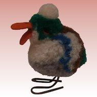 Steiff Wool Drake, 1959 to 1964, No Id's