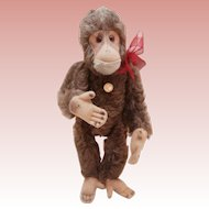 Lovely Vintage Hermann Monkey with Label