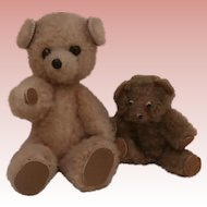 Mix and Match, Sweet Vintage  Miniature Mummy and Baby Bears