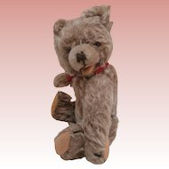 Sweet Hans,  Vintage Hermann Zotty Type Teddy Bear, Squeaker Works
