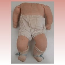 Vintage Cloth Baby Doll Body