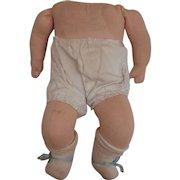 Vintage Cloth Baby Doll Body
