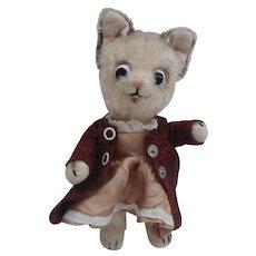 Cute Smaller Size  Vintage Schuco Koko Comical Cat Bigo Bello Series