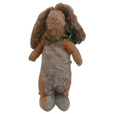 Poor Old Chad Valley Bunny Rabbit, Chad Valley Label