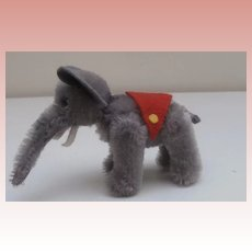 Vintage Schuco Miniature Elephant from the Noahs Ark Series