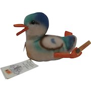 Steiff Replica 1953 Play Duck, All Steiff Labels and Tags 1994/95