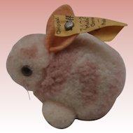 Sweet Little Wool Rabbit, Steiff Button 1968 to 1970's