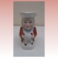 Vintage Small Toby Jug, Germany