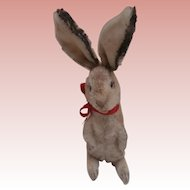 Well Loved Steiff Manni Bunny Rabbit, No Id's 1961 to 1965.