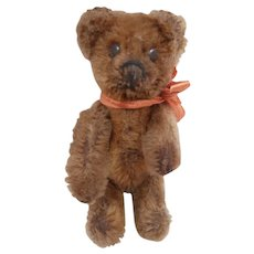 Well Loved Miniature Vintage  Schuco Teddy Bear