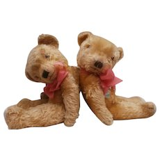 Margaret and Betty Large Vintage  English Teddy Bears