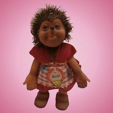 Steiff Mucki Hedgehog, 1965 to 1970, Steiff Mucki Label